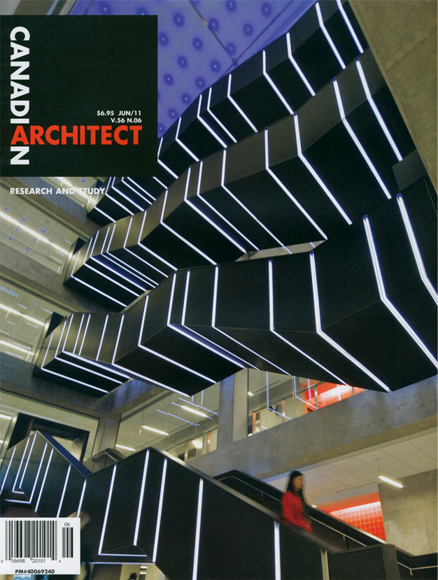Canadian Architect Cover June 2011
