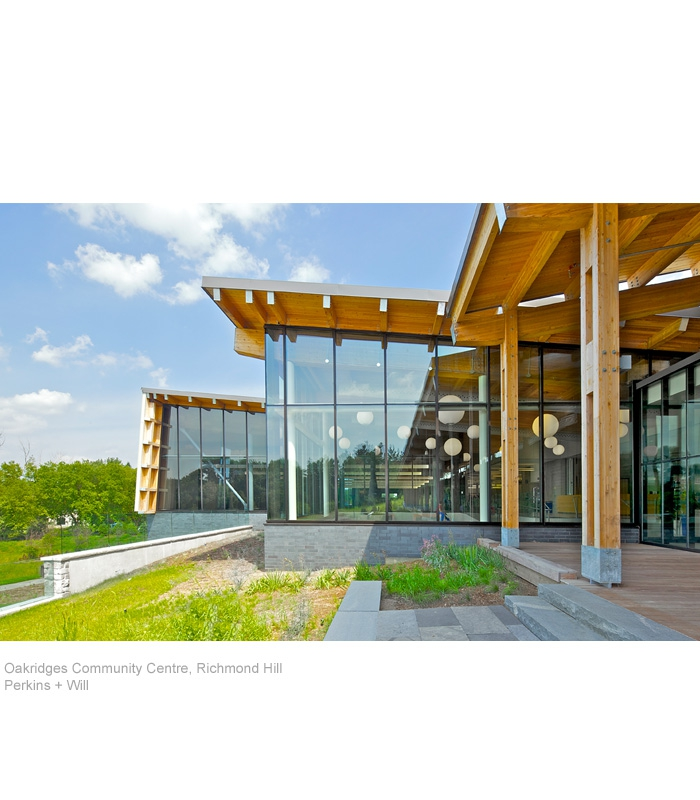 Oakridges Community Centre, Perkins + Will
