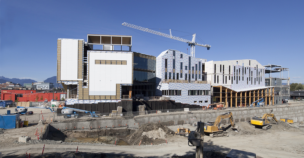 Emily Carr University in progress
